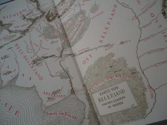 Das Silmarillion - Karte von Beleriand