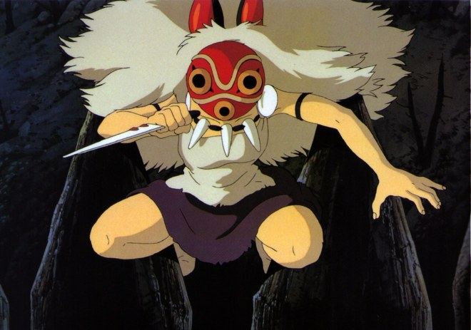 San mit Maske