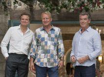 Stellan Skarsgard, Pierce Brosnan und Colin Firth