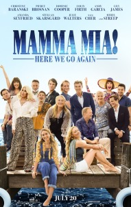 Mamma Mia! Here we go again movie poster