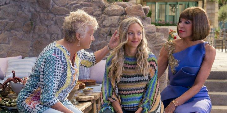 Julie Christie, Amanda Seyfried und Christine Baranski
