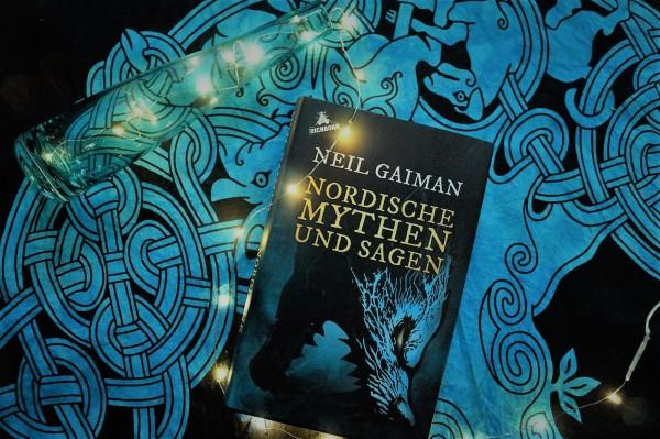 Neil Gaiman. Nordische Mythen und Sagen. Buchcover.