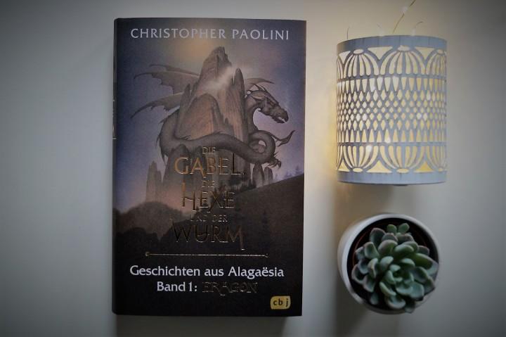Die Gabel, die Hexe und der Wurm von Christopher Paolini (Buch-Cover)