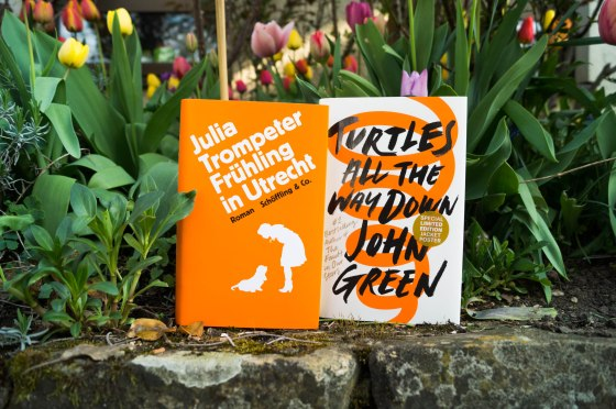 "Julia Trompeter ""Frühling in Utrecht"" und John Green ""Turtles all the way down"""