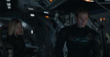Natasha und Captain America