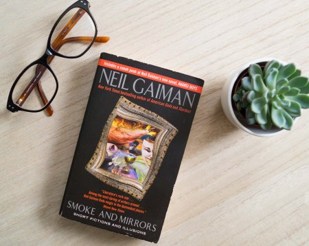 "Neil Gaiman: ""Smoke and Mirrors"""