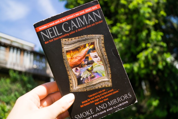 "Neil Gaiman ""Smoke and Mirrors"""