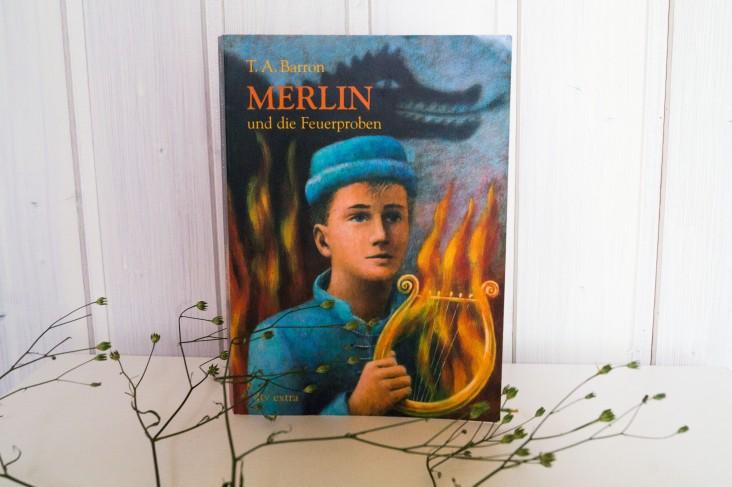 T.A. Barron - Merlin und die Feuerproben