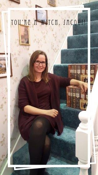 Die Treppe der Dursleys auf der Buchmesse