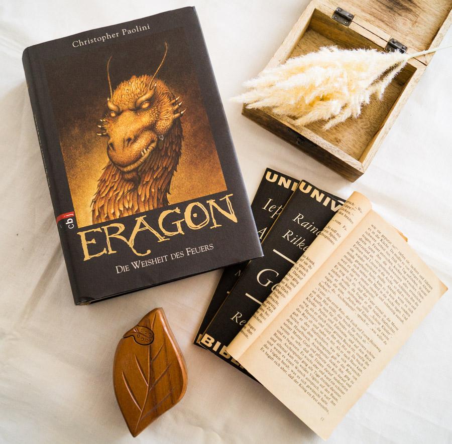 """Buch """"Eragon und die Weisheit des Feuers"""" von Christopher Paolini"""