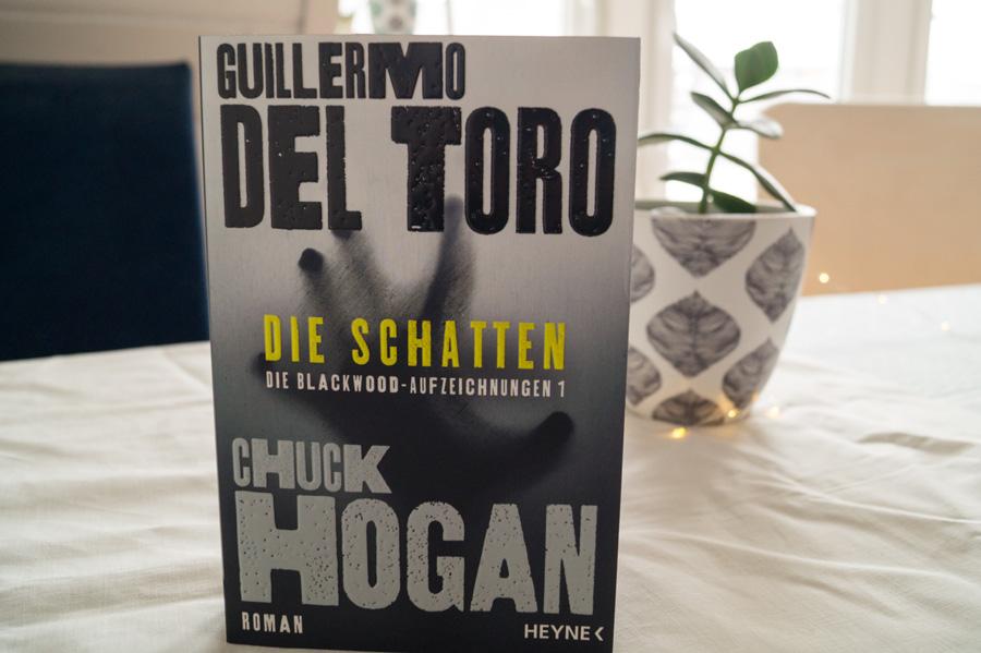 """Buch von Chuck Hogan und Guillermo Del Toro """"Die Schatten"""""""