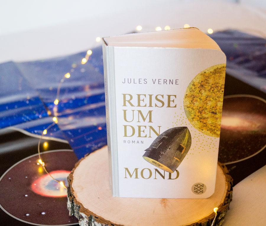 Buch von Jules Verne - Reise um den Mond